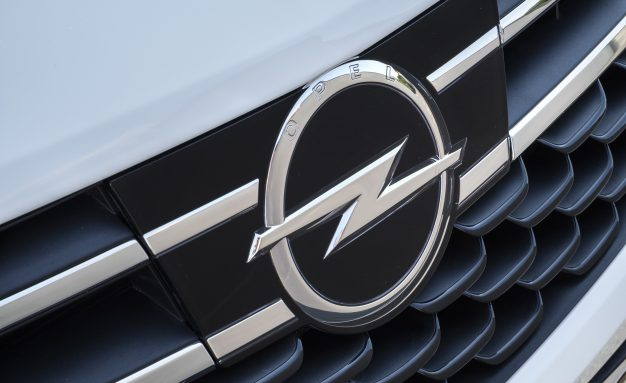 Opel Astra grille logo