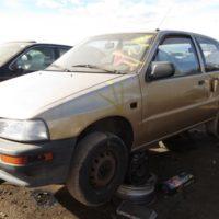 Junkyard Gem: 1990 Daihatsu Charade SE Hatchback