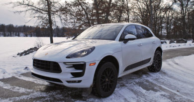 The Porsche Macan GTS is a great way to get to a winter rally
