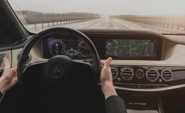 2018 Mercedes-Benz S-class prototype