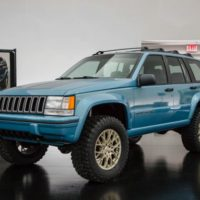 Jeep Grand One Concept: The 1993 Grand Cherokee ZJ Gets another Day in the Sun