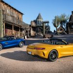 2018 Mercedes-AMG GT C Roadster and 2018 Mercedes-AMG GT Roadster