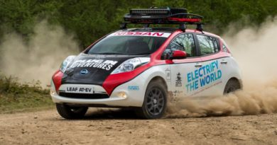 Nissan Leaf AT-EV to tackle 10,000-mile Mongol Rally