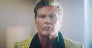 Watch David Hasselhoff in an AI-scripted short film