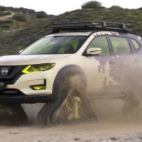 Nissan Rogue Trail Warrior Makes Tracks for New York