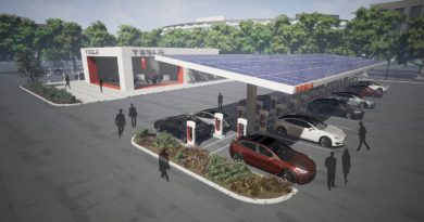 Tesla plans larger Supercharger sites, more travel refueling spots