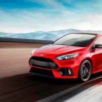 Seeing Red: Ford Focus RS Limited Edition Comes in Red or Blue, Adds Front-Axle Limited-Slip Differential