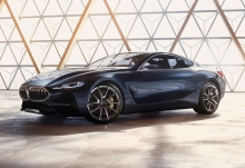 The BMW Concept 8 Series. Unadulterated Dynamics And Modern Luxury ? The Essence Of A BMW Coupe