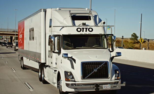 Otto self driving truck Uber autonomous