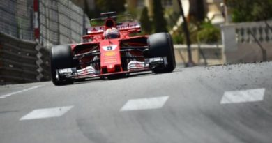 Vettel Leads Ferrari 1-2 in Monaco