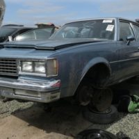 Junkyard Gem: 1987 Oldsmobile Cutlass Supreme